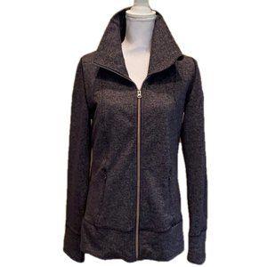 Lululemon Tweed Jersey Jacket Active Wear